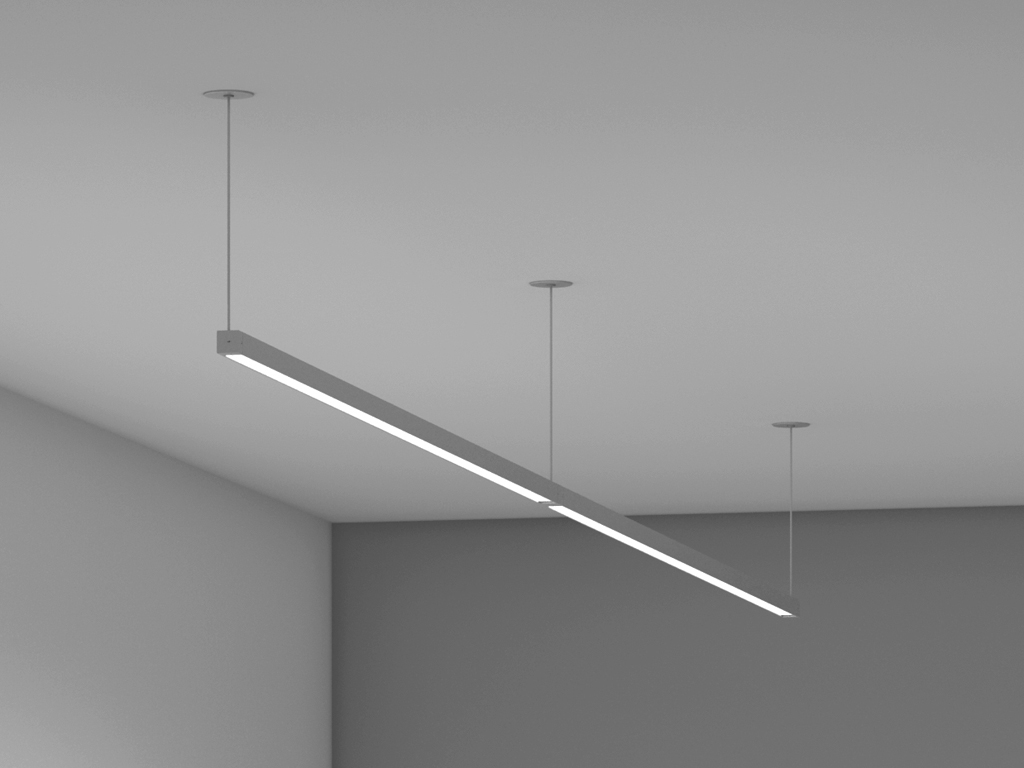 Boxrail ceiling cable 107 vode lighting for Cable suspension luminaire