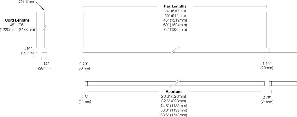 Options 107-BX-CC- Dimensions