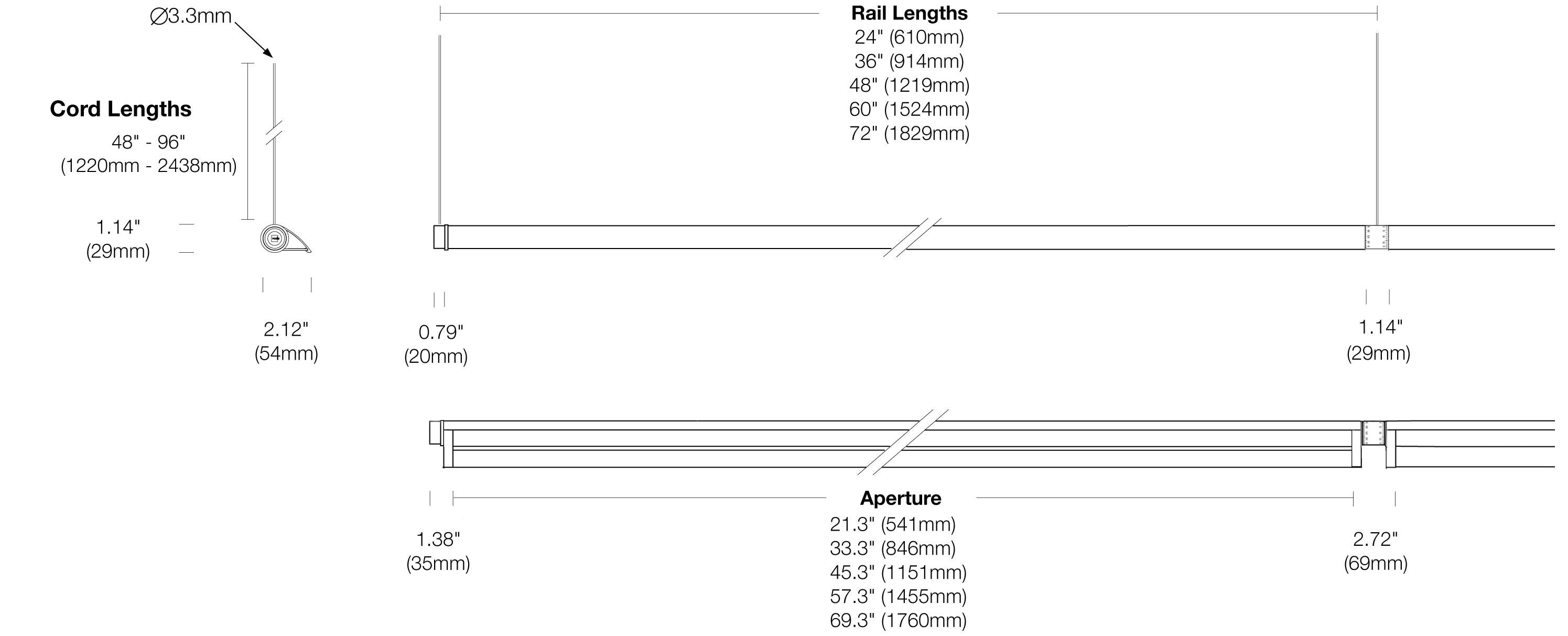 Options 107-WG-CC Dimensions