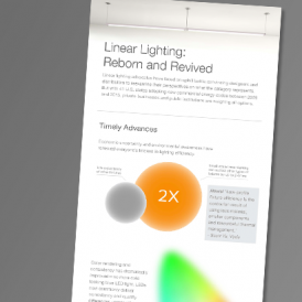 Infographic – Linear Lighting: Reborn & Revived